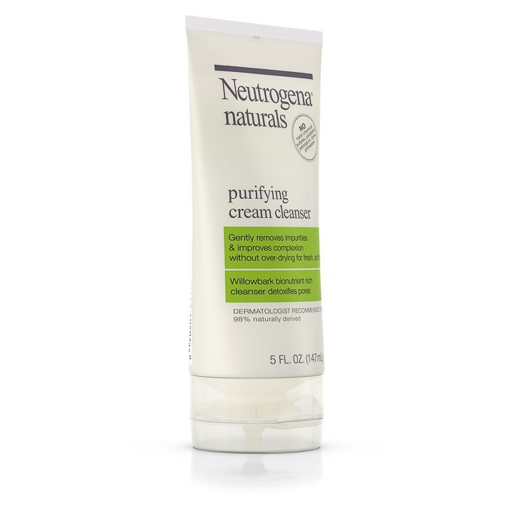 Sữa Rửa Mặt Neutrogena Naturals Purifying Cream Cleanser (147ml) - 100% Authentic