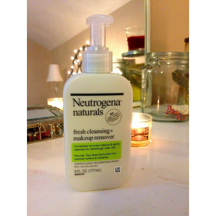 Sữa Rửa Mặt Neutrogena Naturals Fresh Cleansing + Makeup Remover (177ml) - 100% Authentic