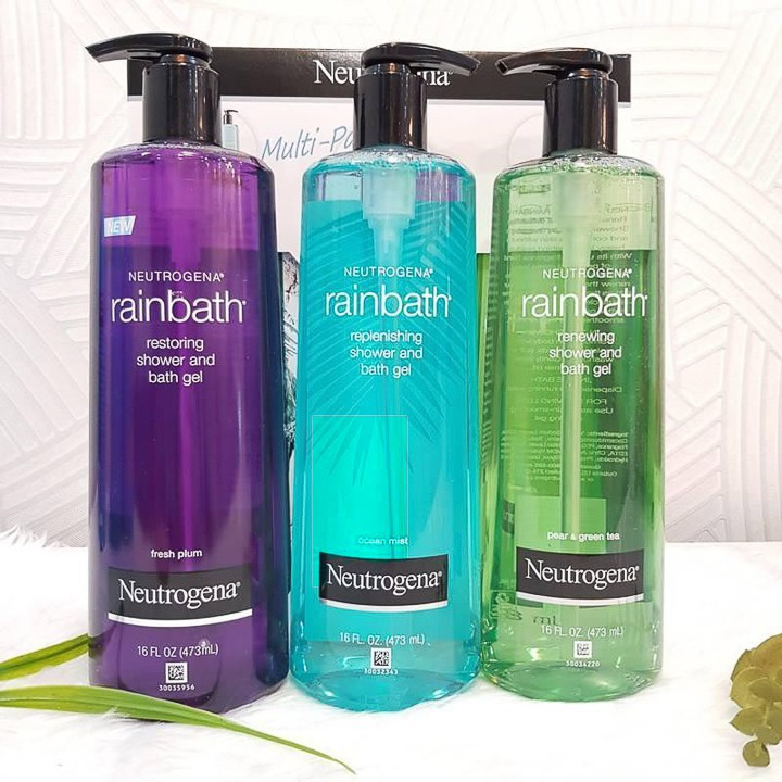Sữa Tắm Neutrogena Rainbath Restoring Shower and Bath Gel Fresh Plum . 473ml