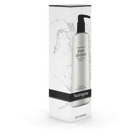 Sữa Dưỡng Thể Trắng Da Neutrogena Sheer Oil Lotion (250ml) - 100% Authentic