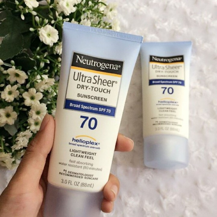Kem Chống Nắng Neutrogena Ultra Sheer Dry Touch SPF 70 (88ml) - 100% Authentic