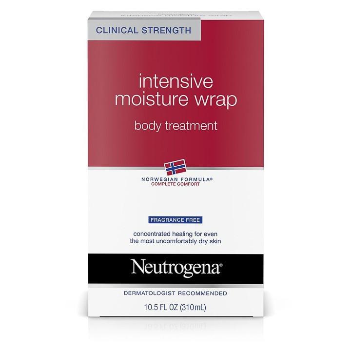 Sữa Dưỡng Thể Toàn Thân Neutrogena Norwegian Formula Intensive Moisture Wrap Body Treatment (310ml) - 100% Authentic