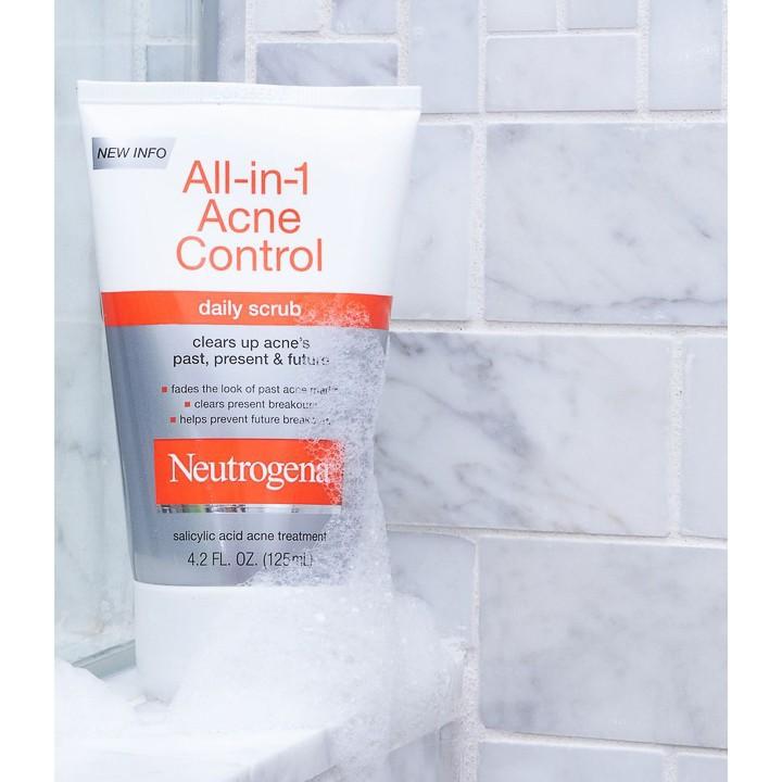 Sữa Rửa Mặt All in 1 Neutrogena Control (125ml) - 100% Authentic