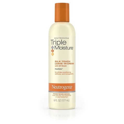 Kem Dưỡng Tóc Neutrogena Triple Moisture Silk Touch Leave-In Cream (177ml) - 100% Authentic