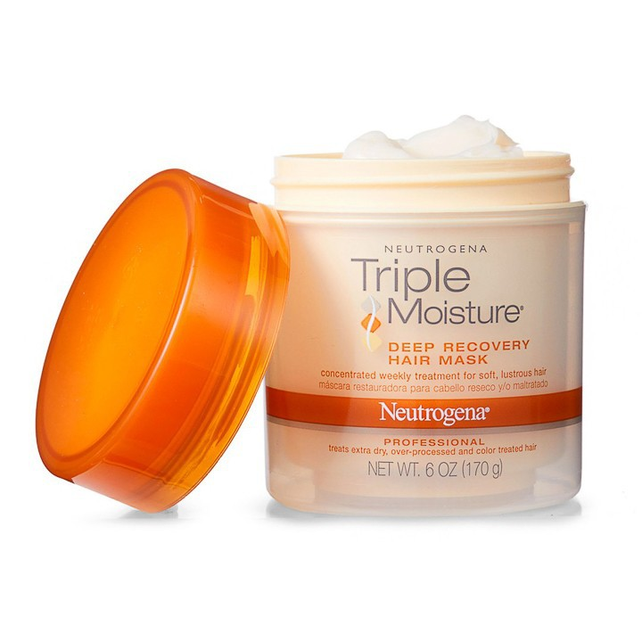 Ủ Tóc Neutrogena Triple Moisture (170g) - 100% Authentic