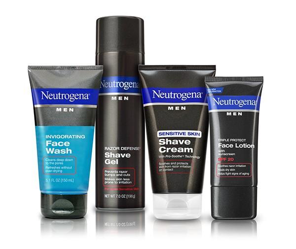 Kem cạo râu Neutrogena Shave Cream Sensitive Skin