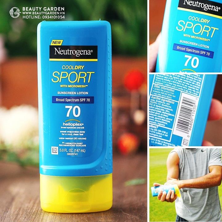 Kem Chống Nắng Neutrogena CoolDry Sport Sunscreen