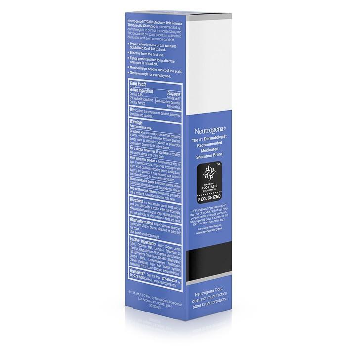 Dầu Gội Đầu TGel Therapeutic Shampoo Stubborn Itch 130ml