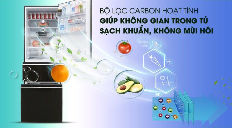 Bộ lọc Carbon hoạt tính - Tủ lạnh Mitsubishi Electric Inverter 358 lít MR-CX46EJ-BRW-V