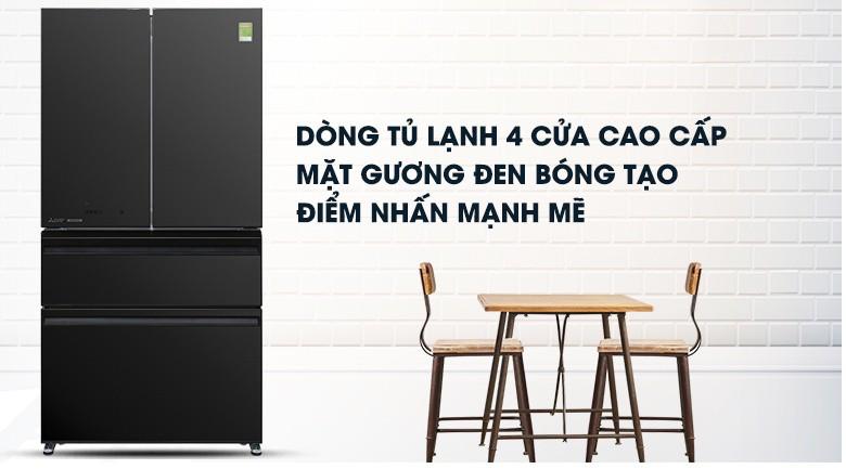 Tủ lạnh Mitsubishi Electric Inverter 564 lít MR-LX68EM-GBK-V