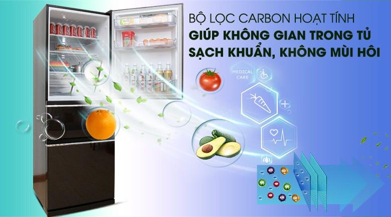 Bộ lọc Carbon hoạt tính - Tủ lạnh Mitsubishi Electric Inverter 326 lít MR-CX41EJ-BRW-V