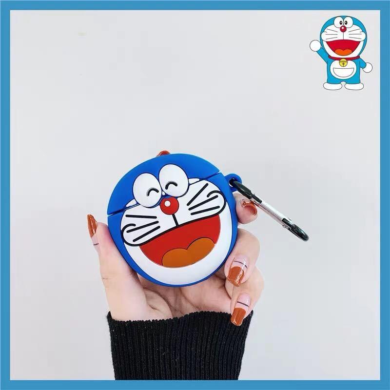 Ốp Airpods 1/2 Hình Doraemon-PK313