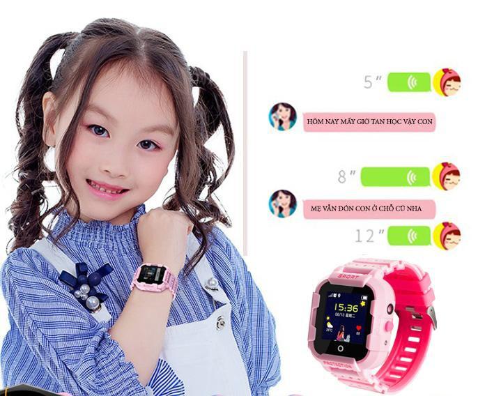 đồng hồ định vị gửi tin nhắn wonlex kt03