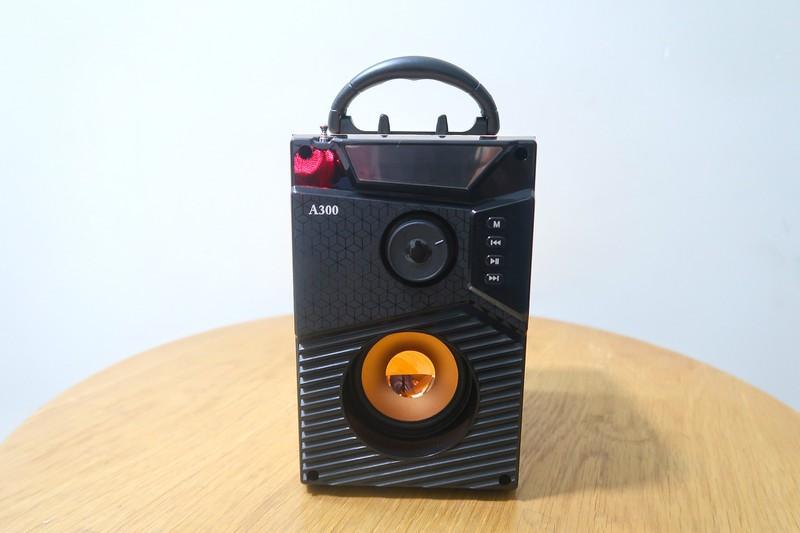 Loa Bluetooth Speaker A300 âm thanh lớn cực hay sử dụng được cho điện thoại, vi tính, thẻ nhớ, USB,