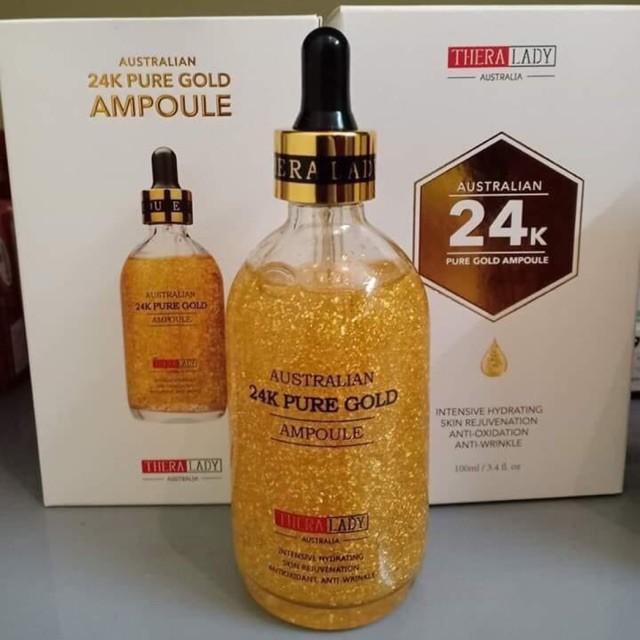 Tinh Chất Dưỡng Da Vàng 24K TheraLady Australian 24k Pure GoldAmpoule