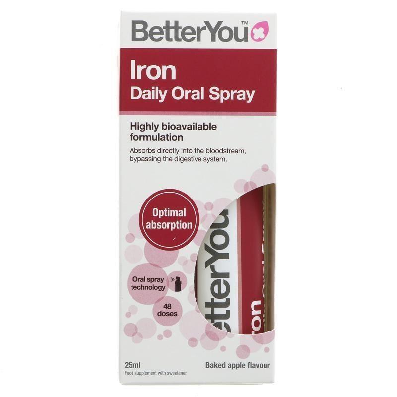 Xịt Bổ Sung Sắt Iron Daily Oral Spray 25ml Của Anh