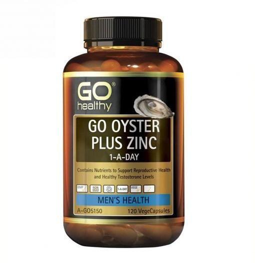 Viên uống Go Healthy Go Oyster Plus Zinc 120 viên