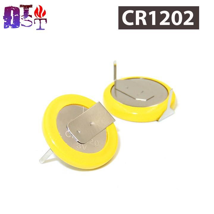 Pin CR1220 Liền Đế Loại Ngang