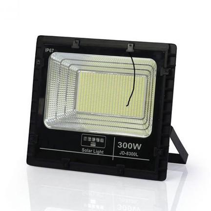 Đèn pha LED năng lượng Mặt Trời 300W JD-8300L - Đèn Năng Lượng JINDIAN