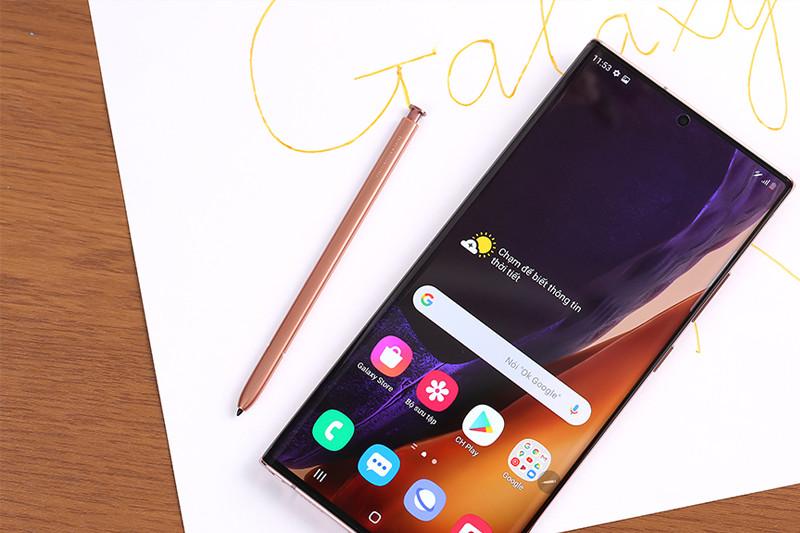 Bút S Pen đi kèm với điện thoại Samsung Galaxy Note 20 Ultra 5G