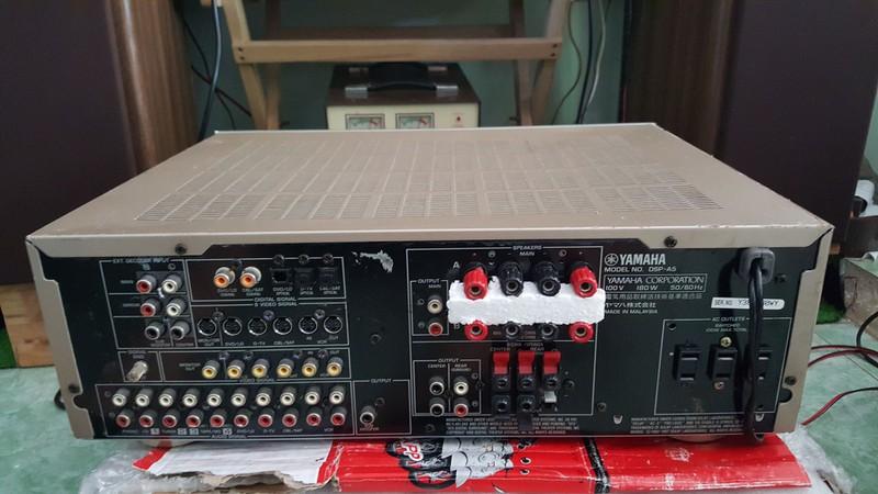 Ampli 5.1 dts - Ampli stereo - Đầu MD làm DAC - Đầu CDP - Sub woofer v.v.... - 8