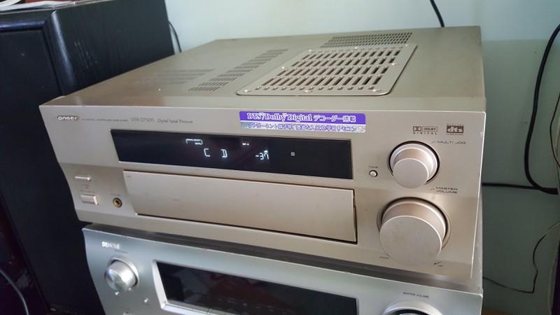 Ampli 5.1 dts - Ampli stereo - Đầu MD làm DAC - Đầu CDP - Sub woofer v.v.... - 5
