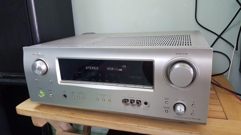 Ampli 5.1 dts - Ampli stereo - Đầu MD làm DAC - Đầu CDP - Sub woofer v.v.... - 12