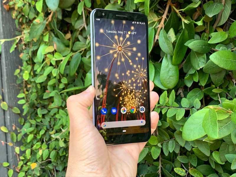 Camera sau của điện thoại Google Pixel 3a chính hãng