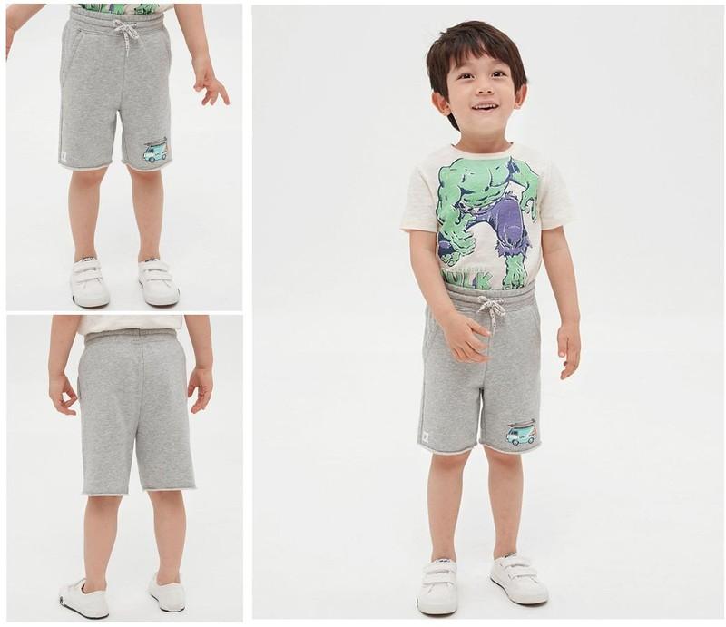 Quan Short thun da ca danh cho be trai Baby thoi trang nhap Campuchia QSBT002