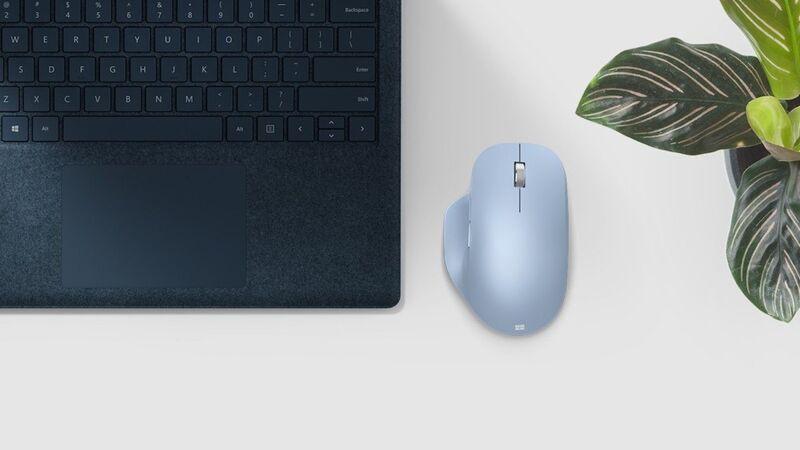 Chuột New Microsoft Bluetooth Ergonomic Mouse - Model mới 2020