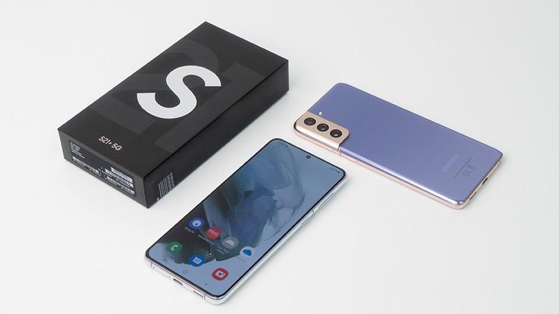 ảnh chân dung Samsung Galaxy S21 Plus