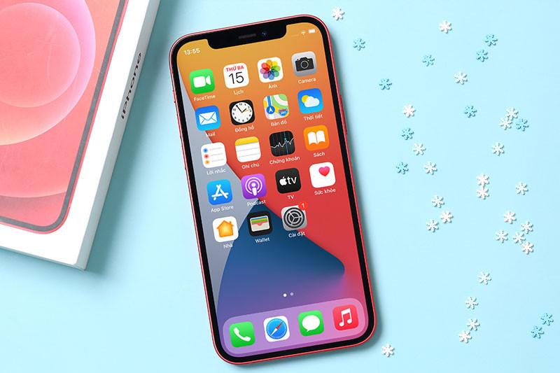Dung lượng pin đủ dùng | iPhone 12