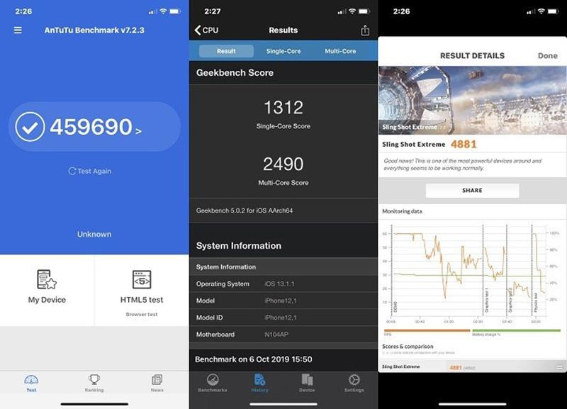 Điện thoại iPhone 11 128GB | Ảnh chụp góc siêu rộng