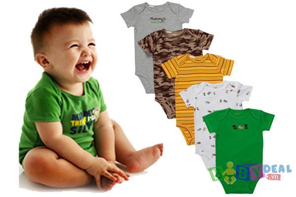 deal set 5 ao body cho be ao46 1m4G3 13293303891956 1 vài lưu ý để bố mẹ giữ gìn quần áo trẻ em tốt hơn