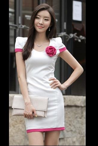 Đầm công sở Lady V416