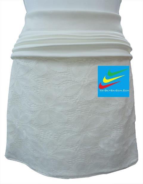 Váy Đẹp Sài Gòn- CHÂN VÁY REN