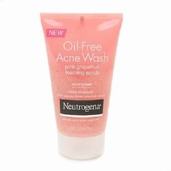 Sữa Rửa Mặt Trị Mụn Neutrogena Oil-Free Acne Wash Pink Grapefruit Foam