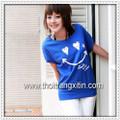 áo thun hình mặt cười nhí nhảnh Mã: AX0204 - XANH