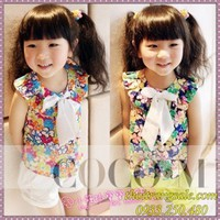 Bộ áo quần bé gái BB271