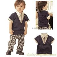 Bộ áo quần bé trai BB591