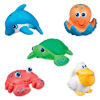 Bộ đồ chơi phun nước gồm 5 sinh vật biển
