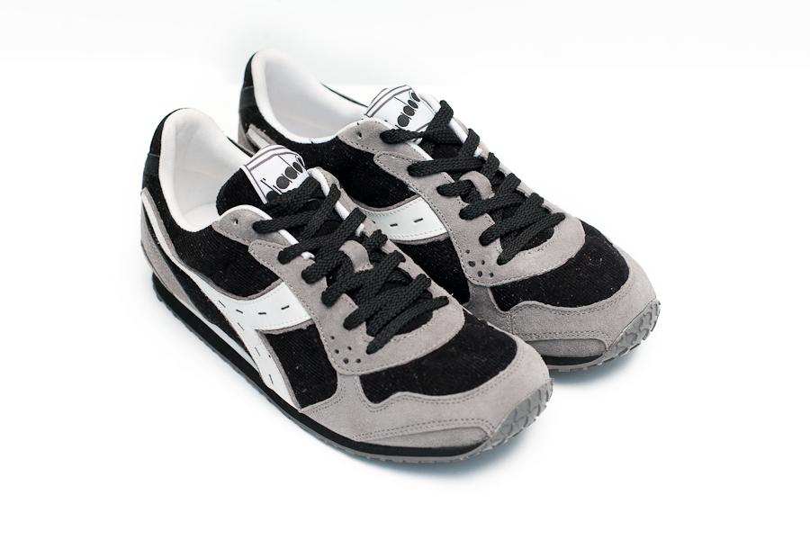 Giày diadora xám đen
