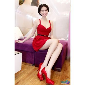 Đầm xòe Ngọc Trinh