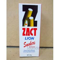 MenShop - Kem Đánh răng dành cho người hút thuốc lá Zact Lion
