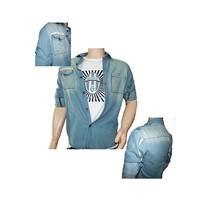 Áo khoác Jeans 4Men