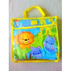 Đồ chơi phát triển trí tuệ - Cloth Book Baby Animals