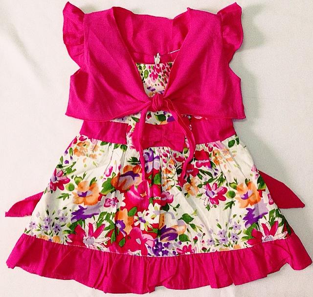 thoi trang he 2013 ao dam khoat hoa be gai 1m4G3 img 0218 2 1 Giúp bạn chọn mua quần áo trẻ em sơ sinh