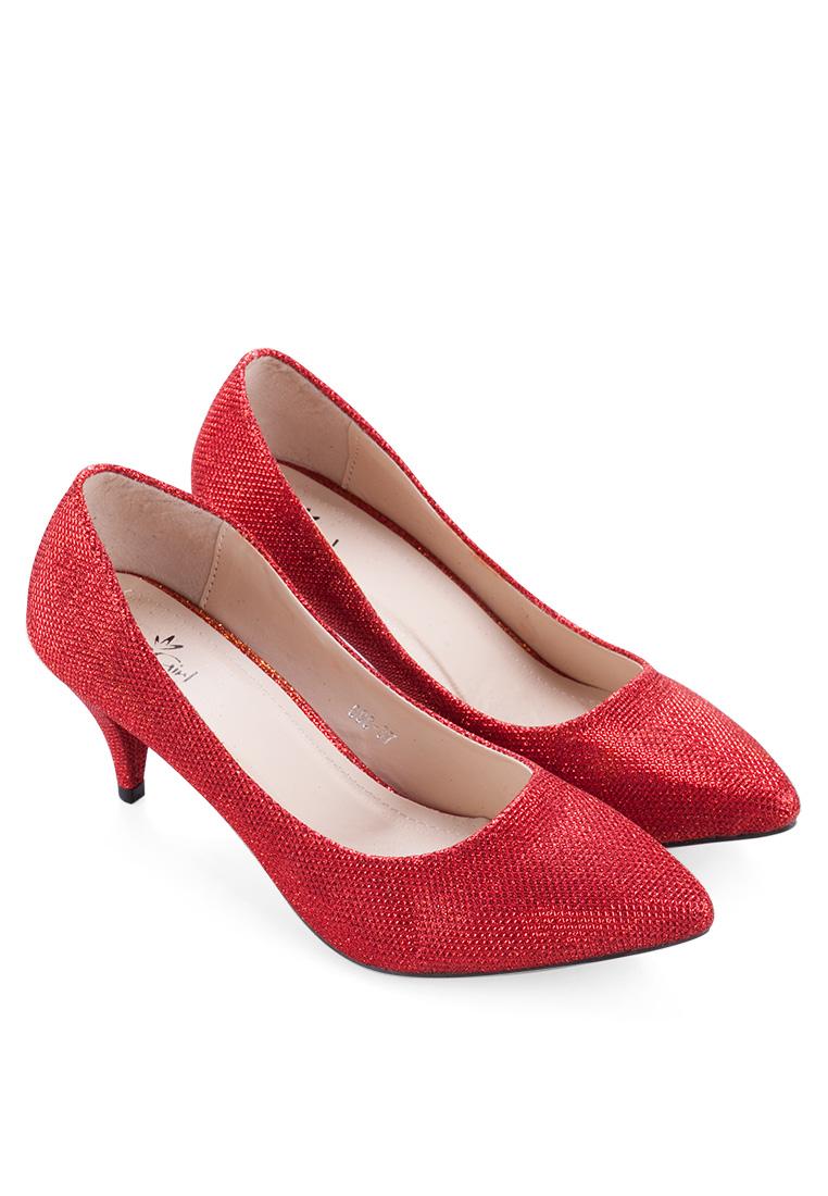 Giày công sở kim tuyến cao 5 phân cực sang trọng
