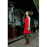 Đầm đỏ Marzano