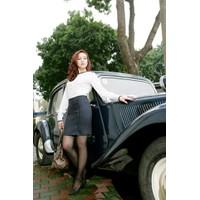 Sơ mi trắng phối chân váy Marzano